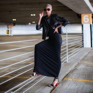 Maxi Dress w/ Chain Straps